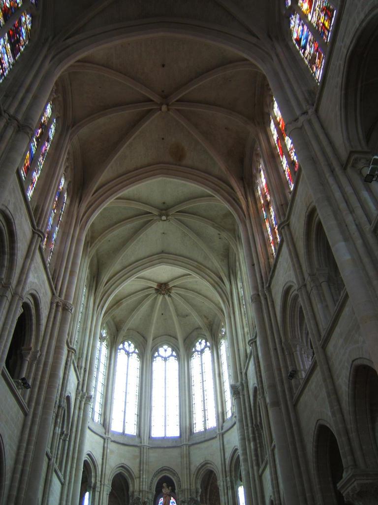 Cathédrale Notre-Dame Saint-Gervais-Saint-Protais à Senlis.