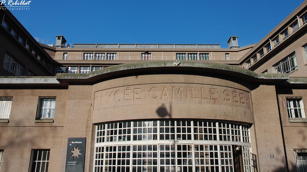 Lycée Camille Sée à Paris 15eme arrondissement.
