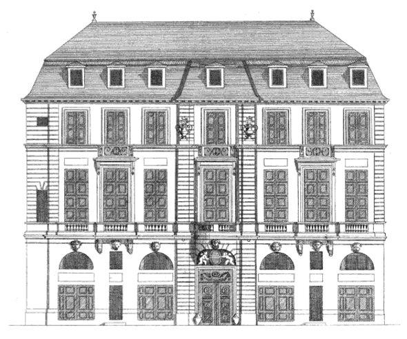 h tel de beauvais actuellement cour administrative d 39 appel de paris paris 4eme arrondissement. Black Bedroom Furniture Sets. Home Design Ideas