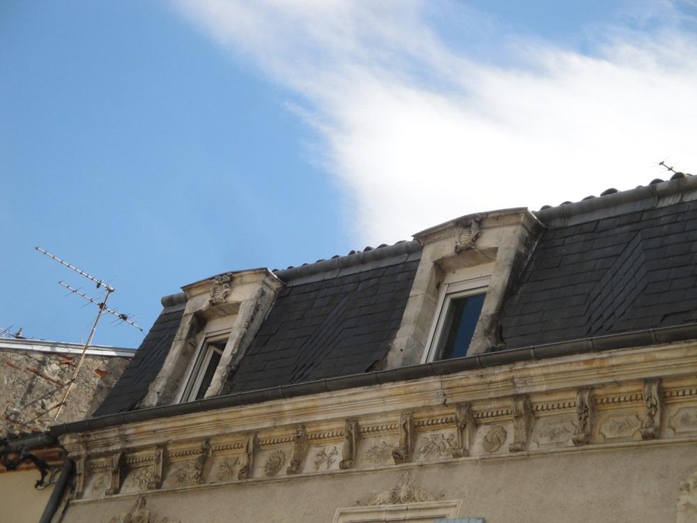 House, French Heritage monument to Villeneuve sur lot.
