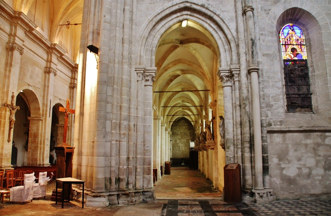 Former benedictine Abbey, French Heritage monument to St michel.