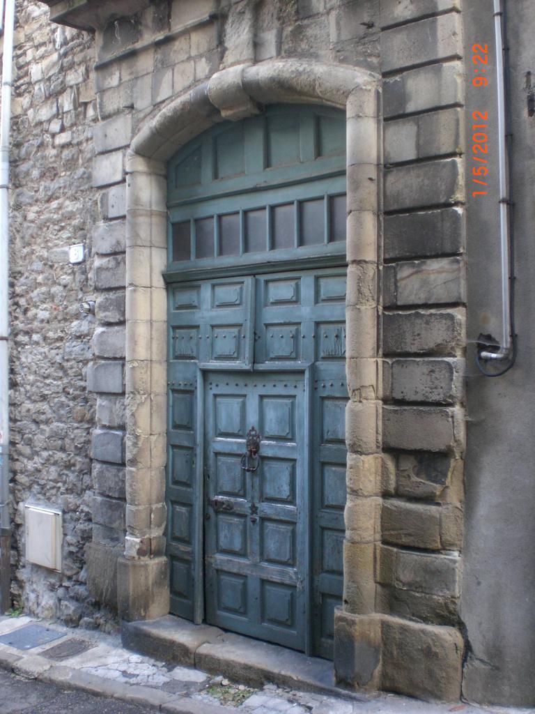 Maison Michel Veyrenc à Aubenas.