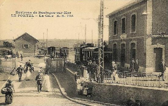 Station (Gare de Tramways), French Heritage monument to Le portel.