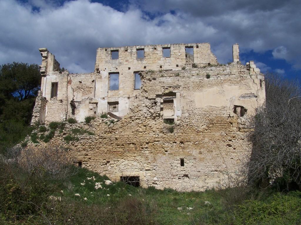 Château de Ponteau à Martigues.