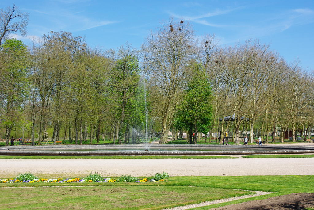 Domaine du château de Lunéville à Luneville.