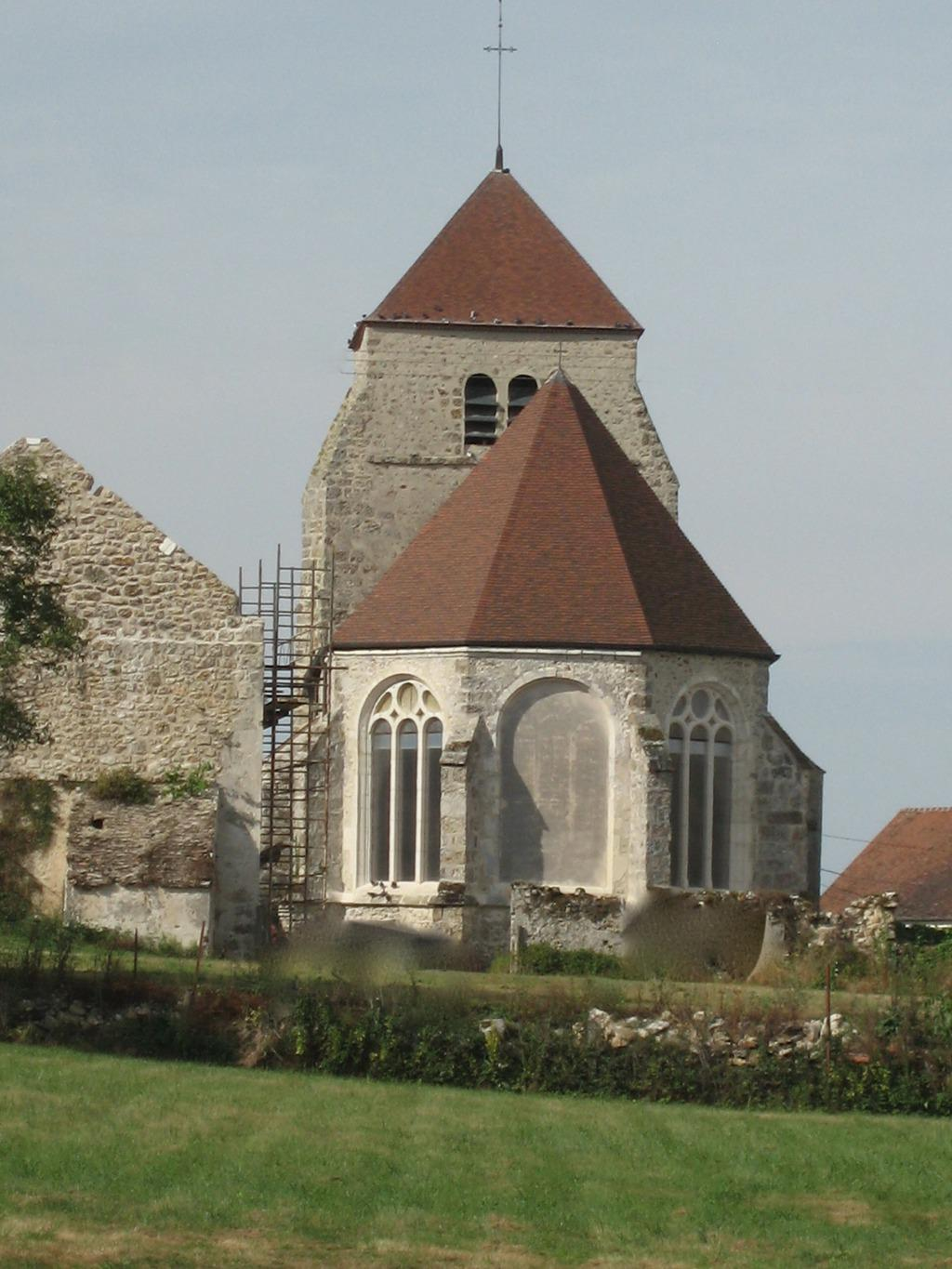 Eglise à Vendieres.