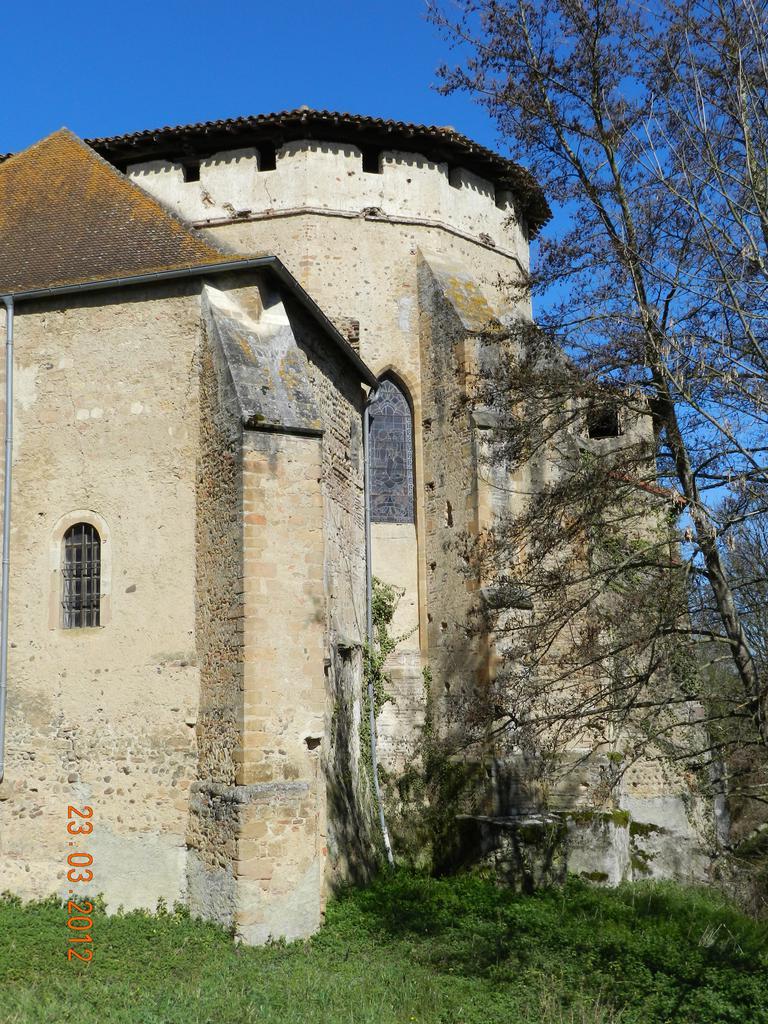 Ancienne abbaye de Saint-Sever-de-Rustan à St sever de rustan.
