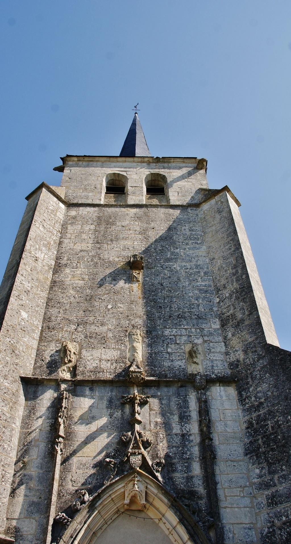 Church, French Heritage monument to Vielmanay.