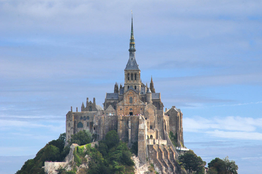 Mont Saint-Michel, Abbey and dependencies.