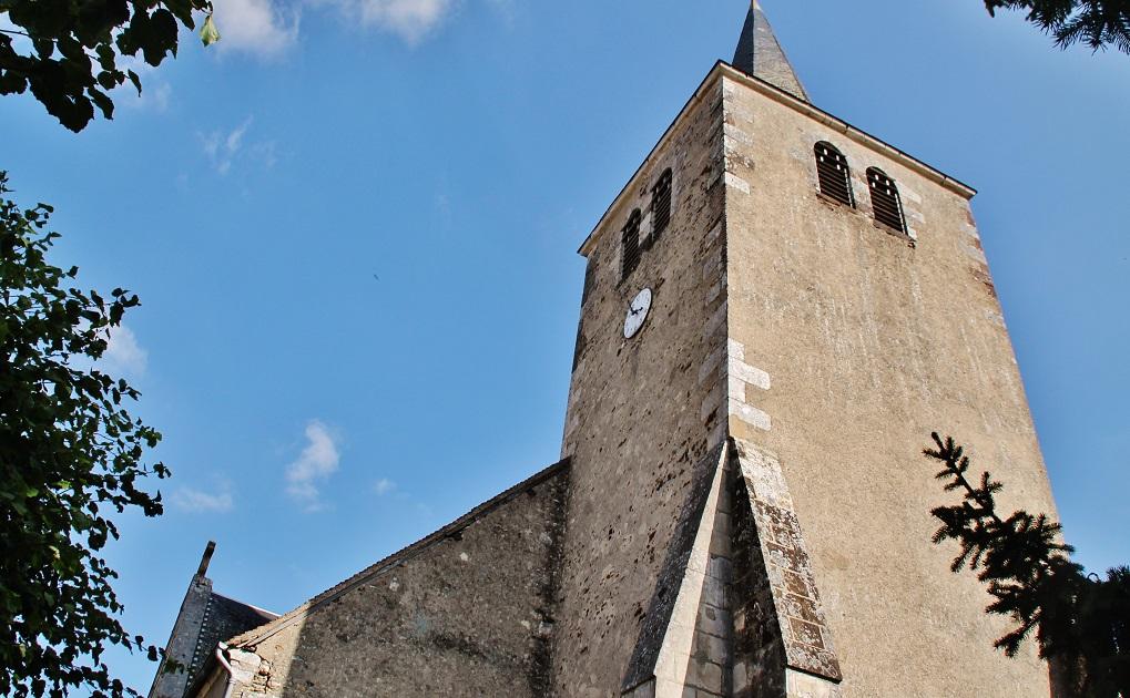 Eglise Sainte-Gemme à Ste gemme en sancerrois.