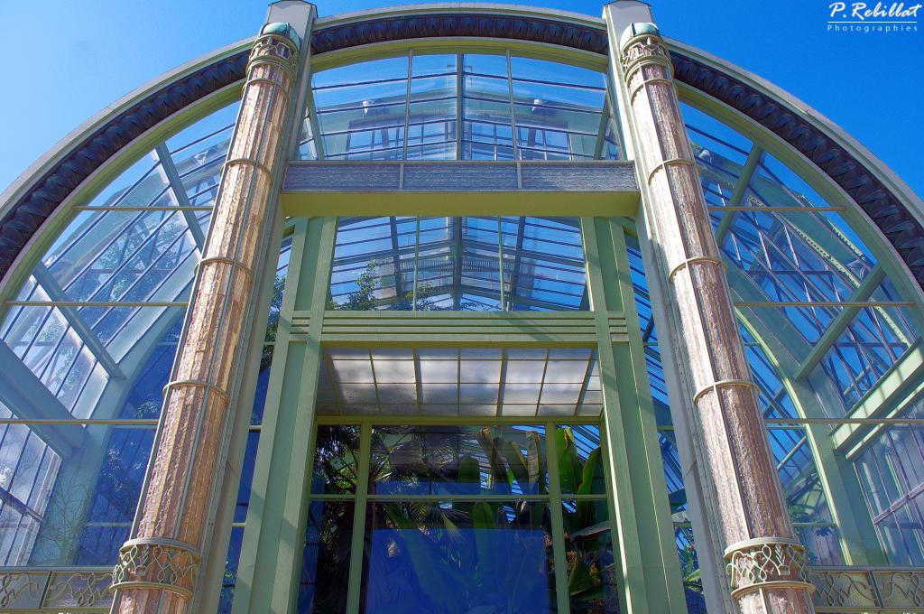 Jardin des Plantes et Muséum à Paris 5eme arrondissement.