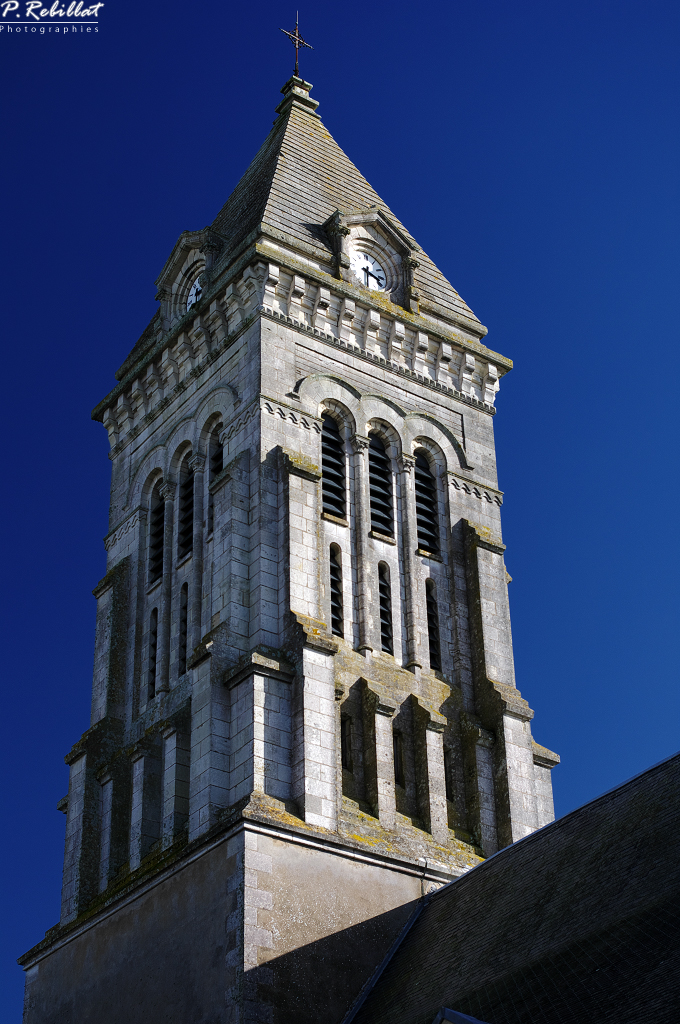 Church, French Heritage monument to Noirmoutier en l ile.