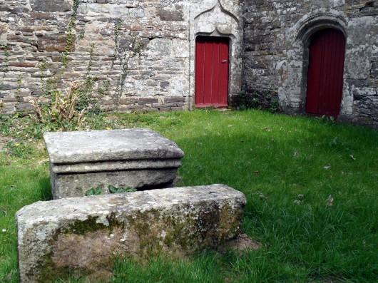 Chapelle Saint-Sébastien à Plomodiern.