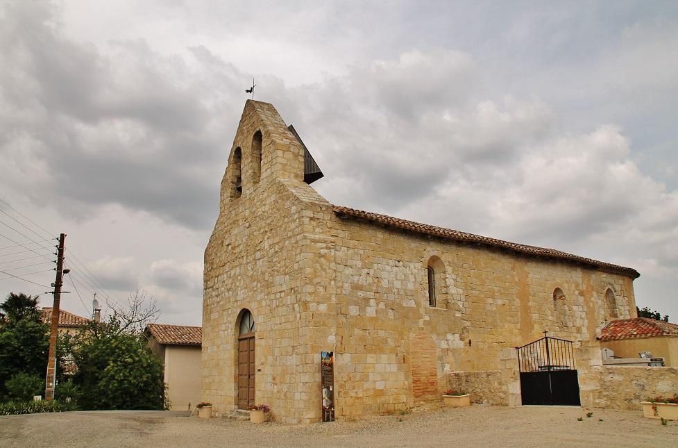 Church parish St. John, French Heritage monument to St jean du bouzet.