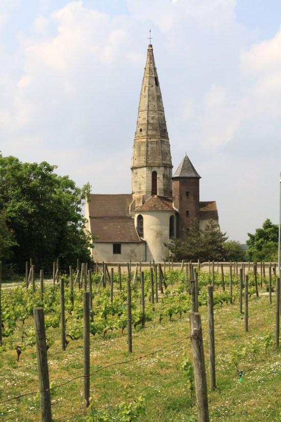 Eglise Saint-Martin à Sartrouville.
