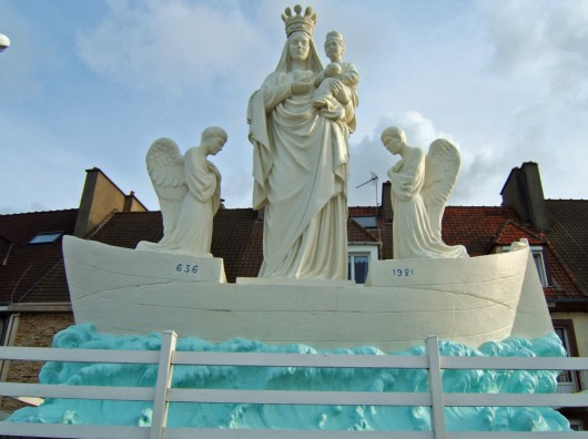 Monument Notre-Dame-de-Boulogne (Memorial), French Heritage monument to Le portel.