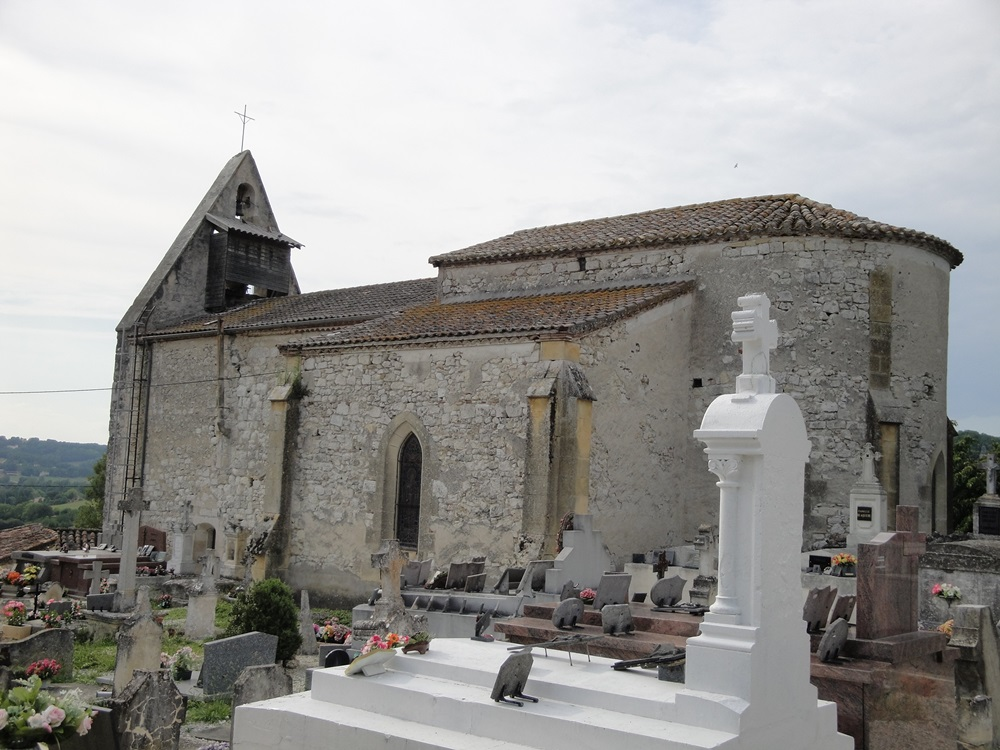 Church Saint-Martin to Auradou.