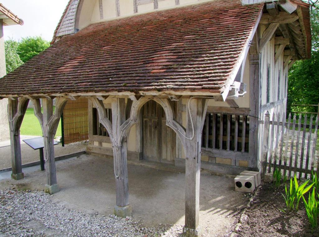 Wooden Chapel, French Heritage monument to Soulaines dhuys.