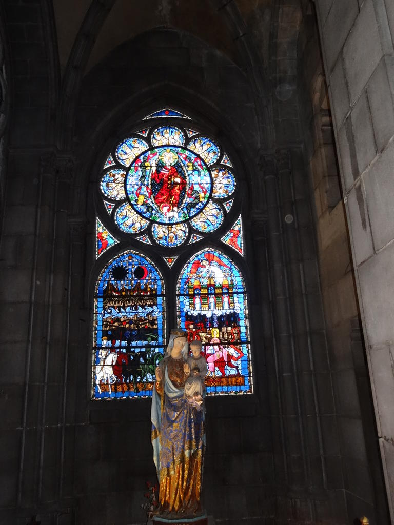 Notre Dame Cathedral, French Heritage monument to Clermont ferrand.