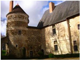 chateau, rent, loire, vendome