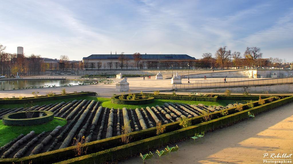 Jardin des Tuileries à Paris.