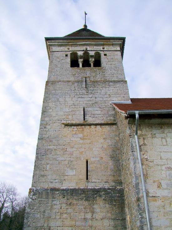 Church of Leugney, French Heritage monument to Bremondans.