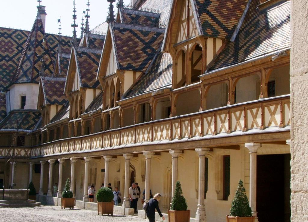 Hôtel-Dieu or Hospice, French Heritage monument to Beaune.