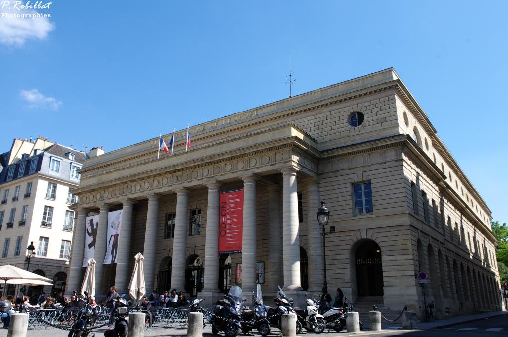Théâtre de l'Odéon à Paris 6eme arrondissement.