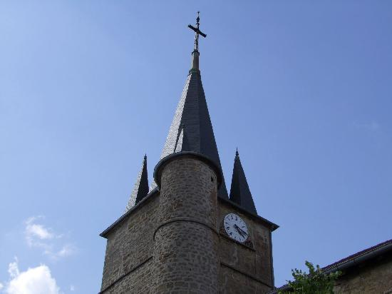 Parish Church of St. Blaise, French Heritage monument to Montaigu.