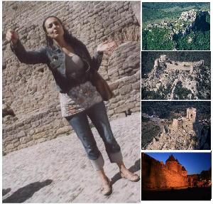 Carcassonne, pays cathare, chateaux cathares, la cité
