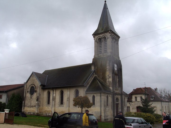 Parish Church St. Martin, French Heritage monument to Les eparges.