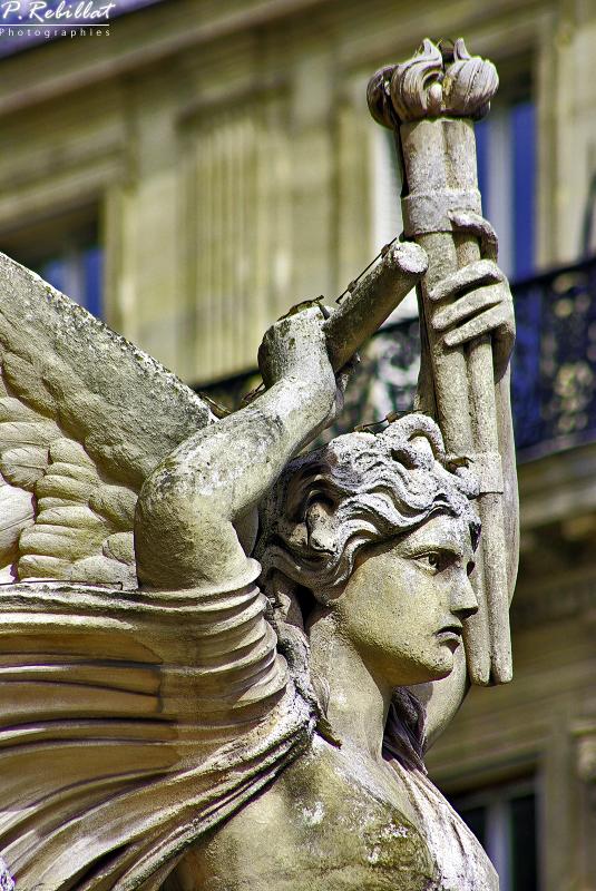 Théâtre national de l'Opéra ou opéra Garnier à Paris 9eme arrondissement.