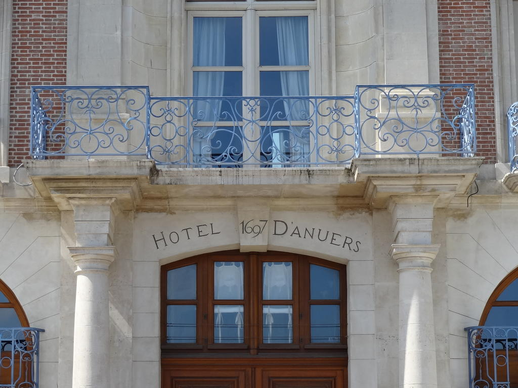 Hotel Antwerp, French Heritage monument to Dieppe.
