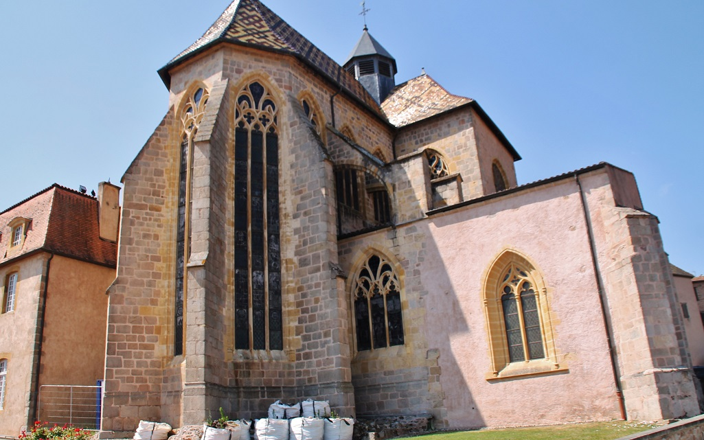 Priory in Ambierle.