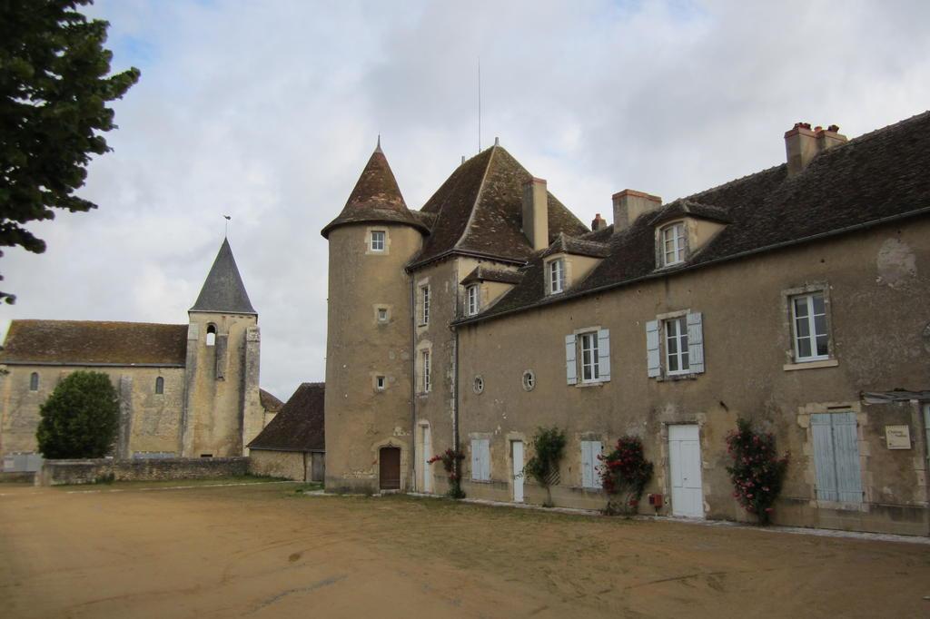 château fort dit château Naillac à Le blanc.