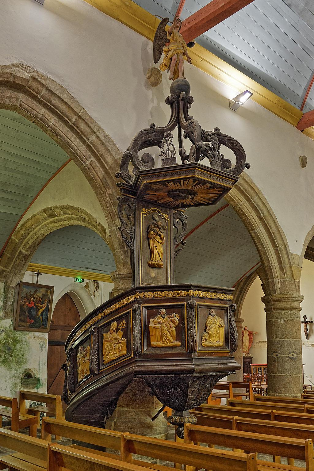 Church Saint-Milliau to Ploumilliau.