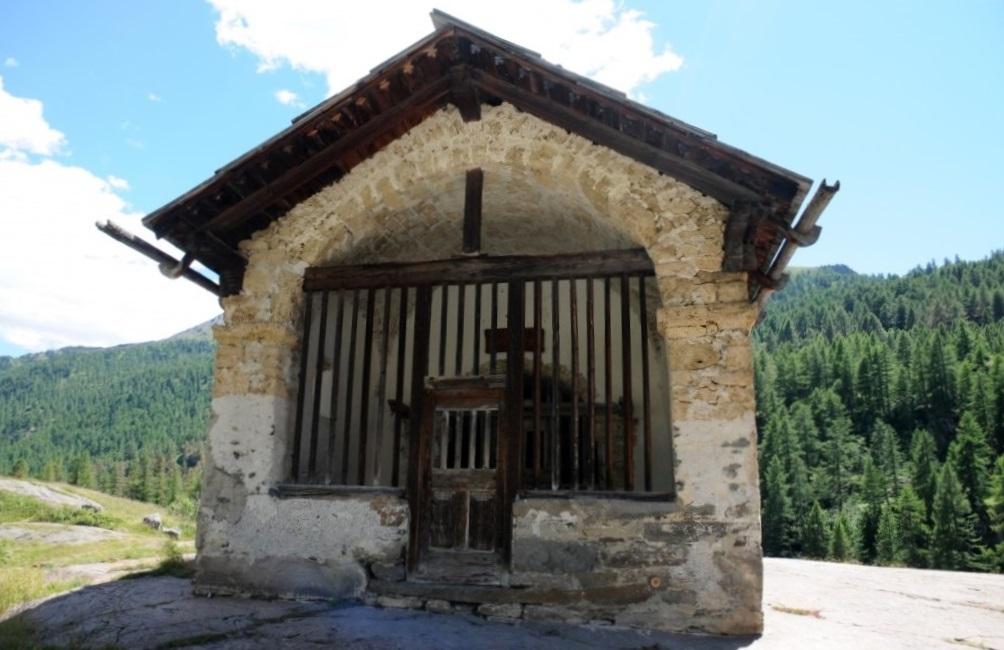 Chapelle Sainte-Marie à Nevache.