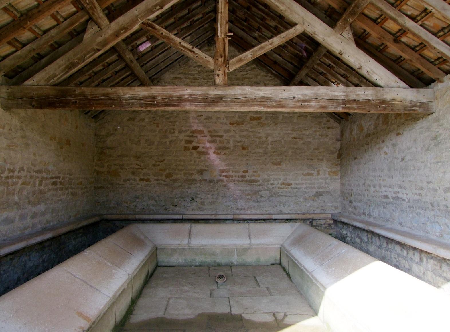 lavoir à Vire.