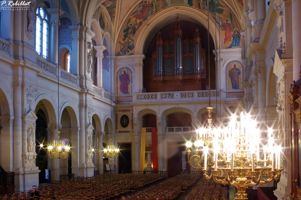 Eglise de la Trinité à Paris 9eme arrondissement.