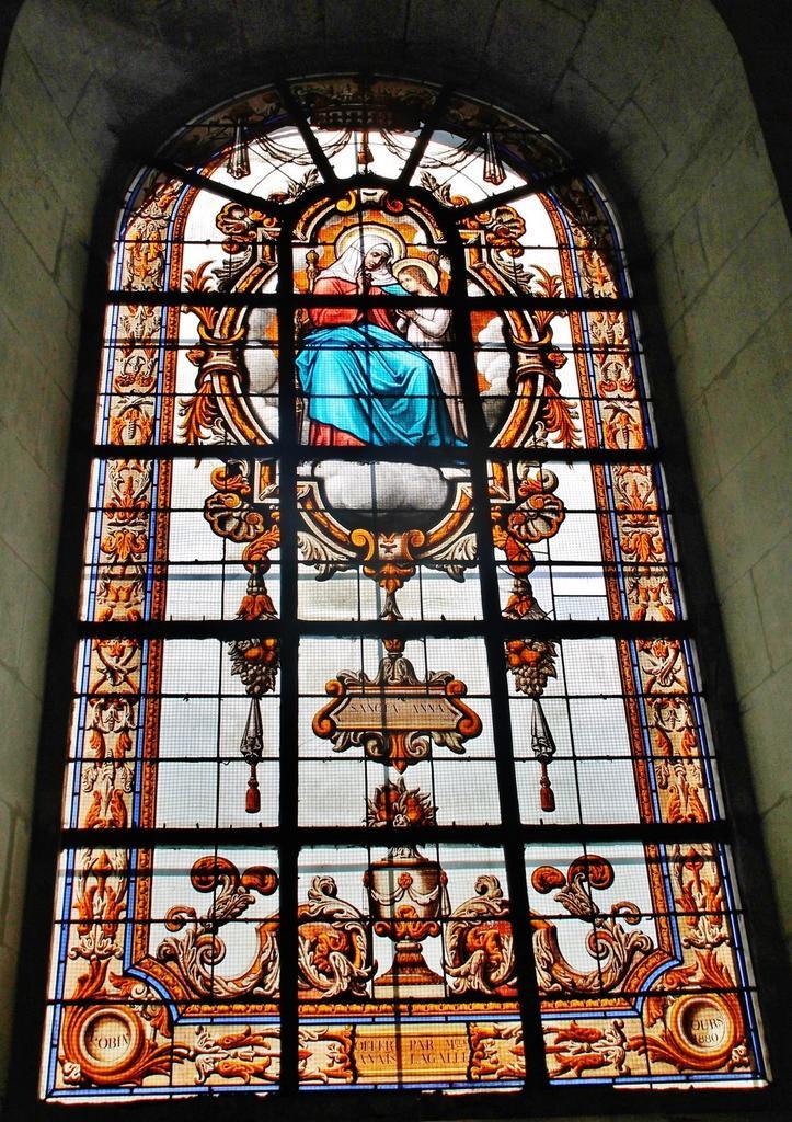 Eglise paroissiale Notre-Dame à Richelieu.