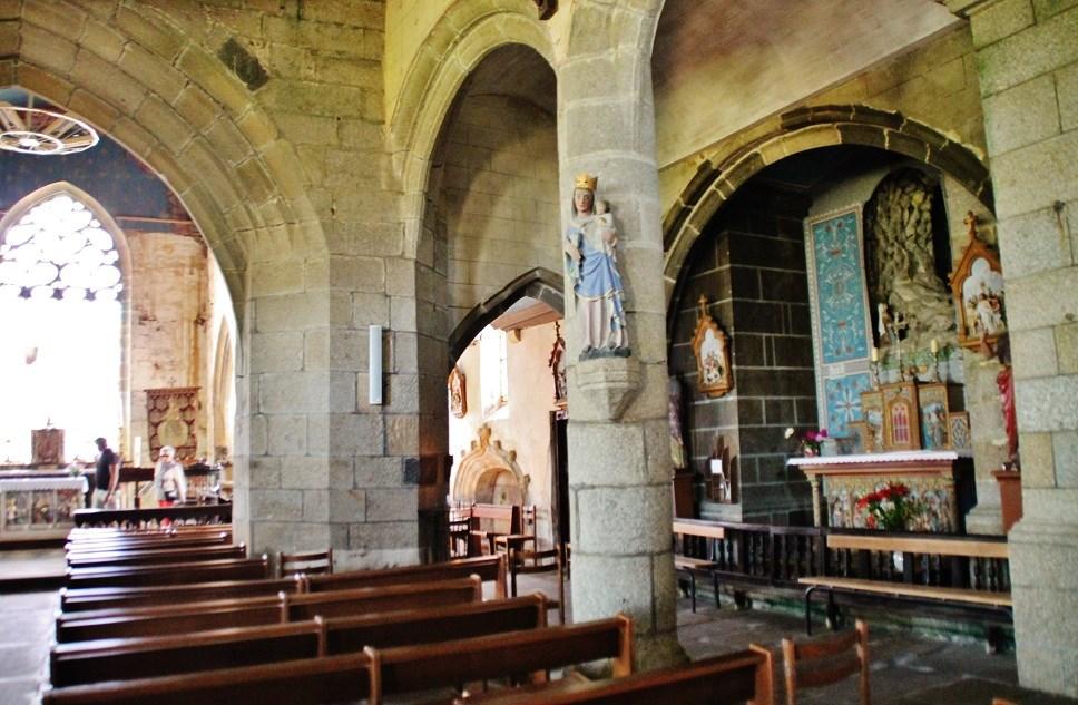 Eglise et cimeti�re par pierre bastien