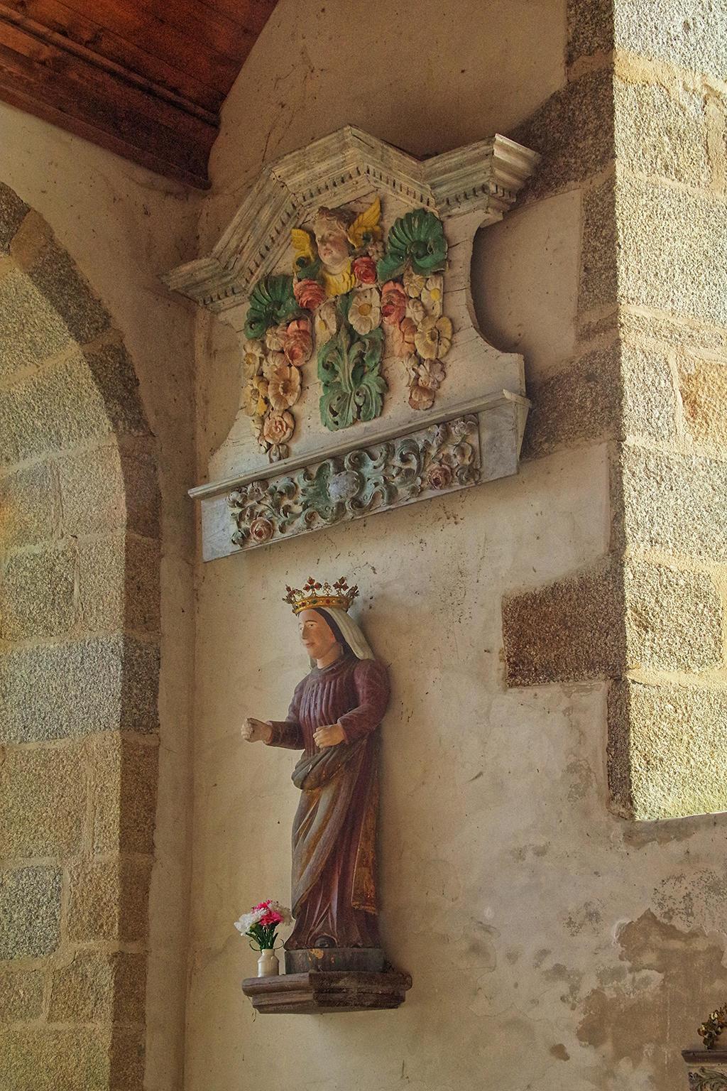 Eglise Paroissiale Sainte-Geneviève à Begard.