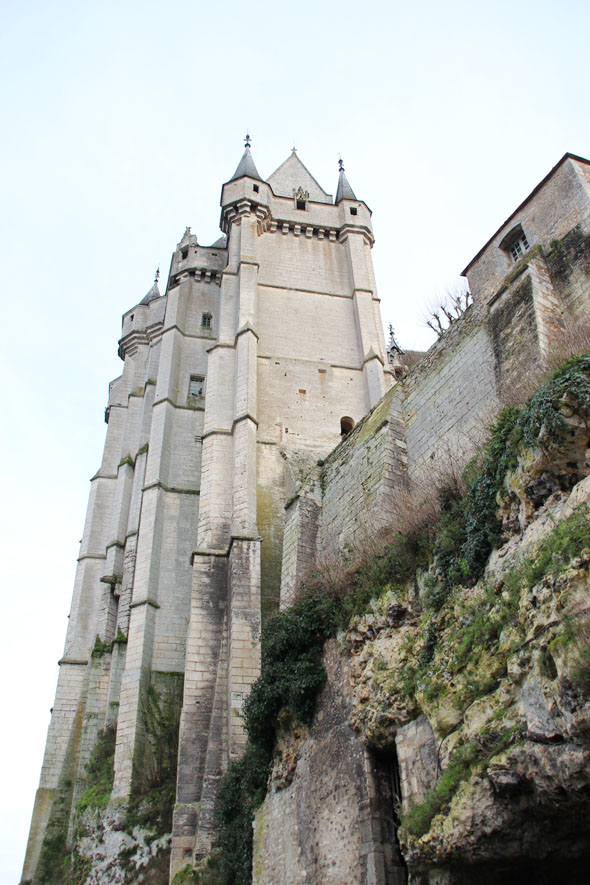 Castle and its surroundings, French Heritage monument to Chateaudun.