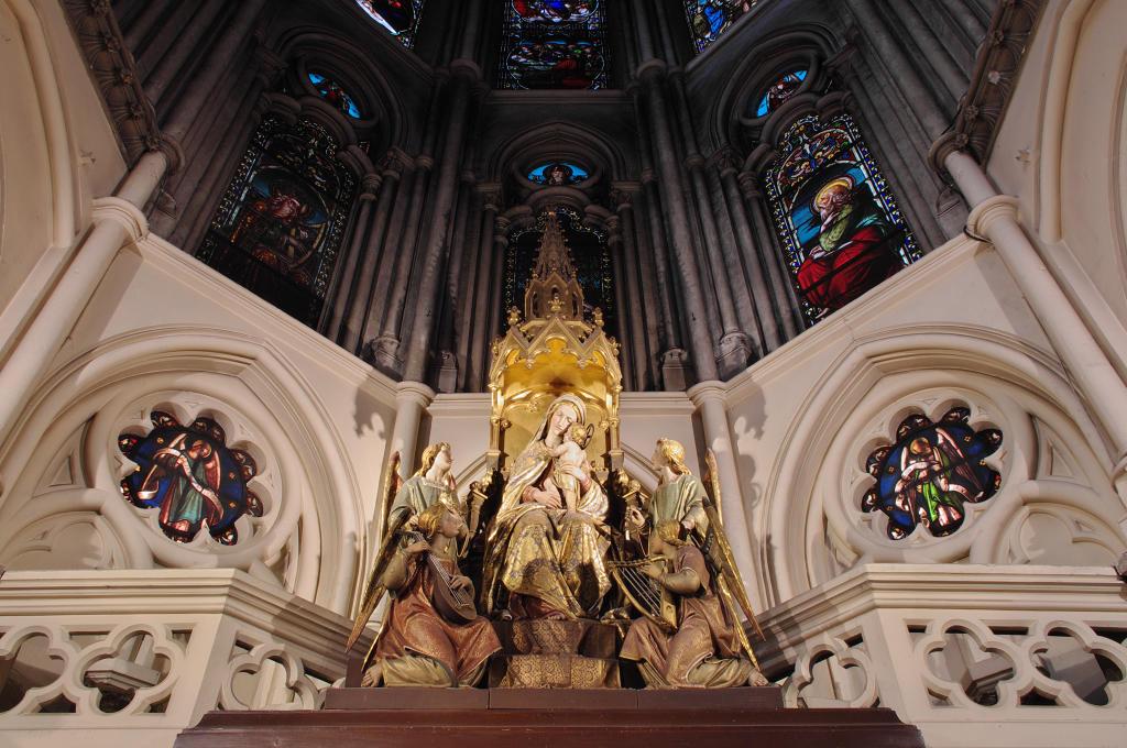 Chapelle Notre-Dame-des-Anges à Paris 6eme arrondissement.