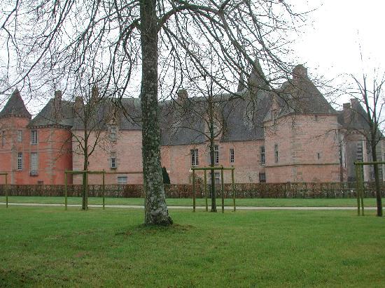 Château de Carrouges à Carrouges.
