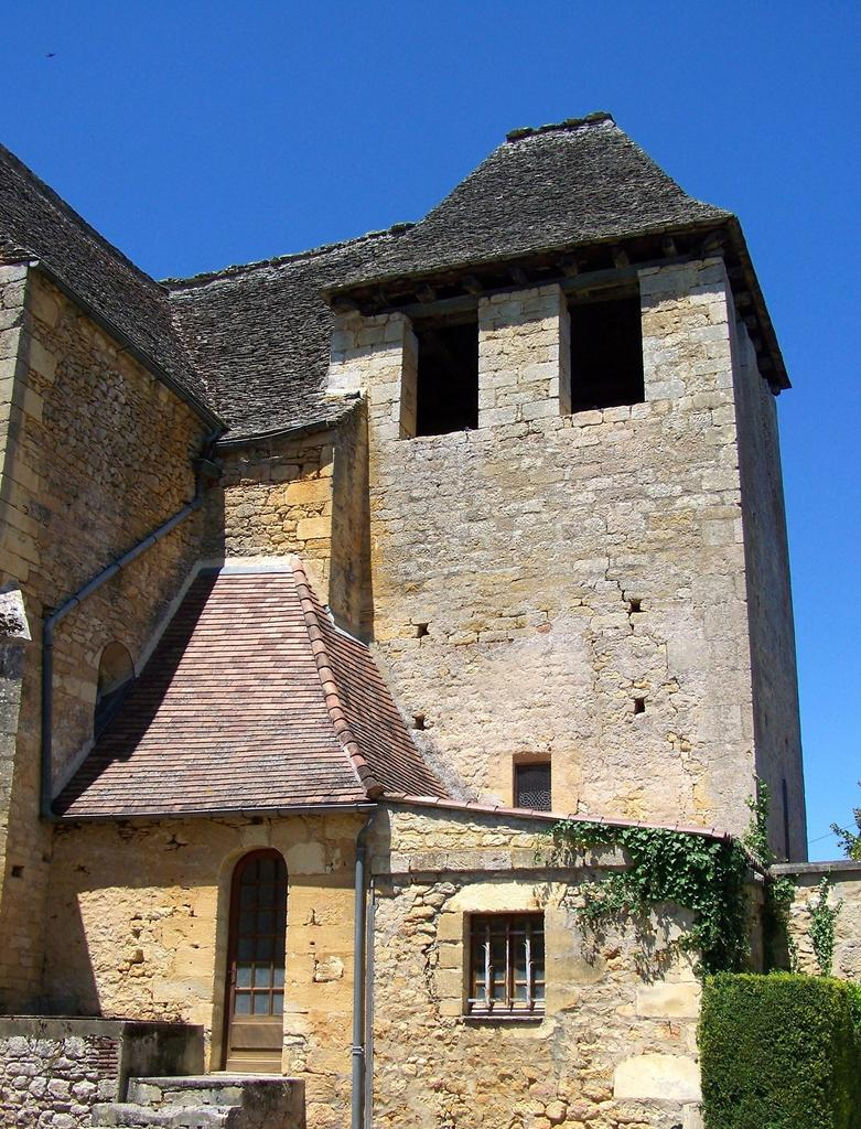 Eglise à Vitrac.