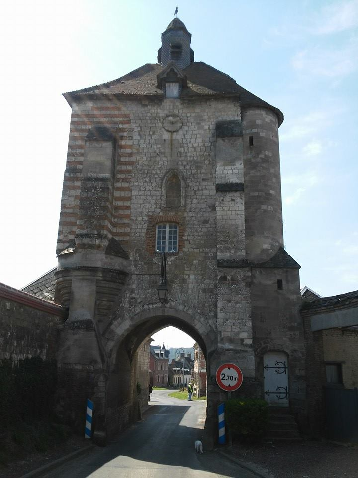 Belfry, French Heritage monument to Lucheux.