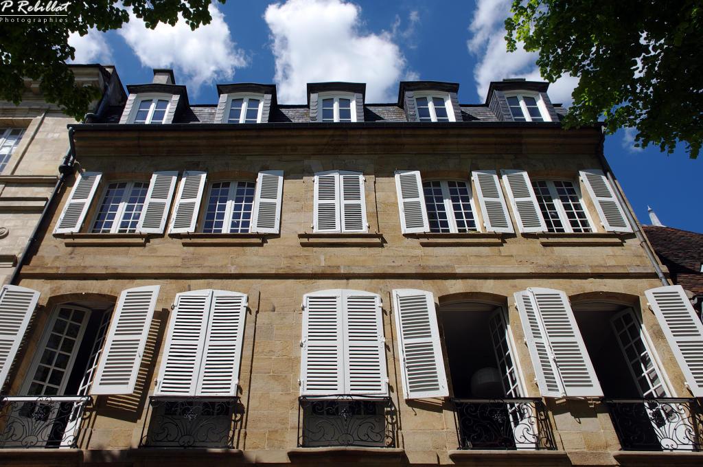 Hôtel de Ballore à Moulins.