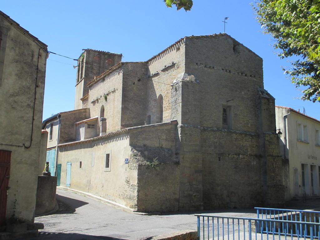 Eglise Notre-Dame (ancienne) à Villegailhenc.
