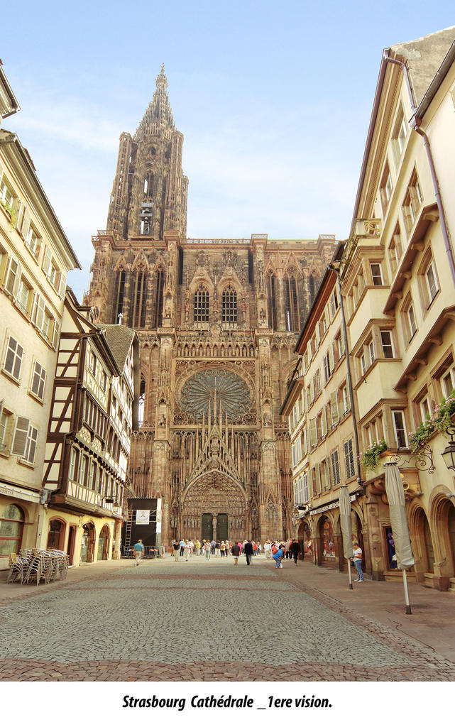 Cathedral of Strasbourg.